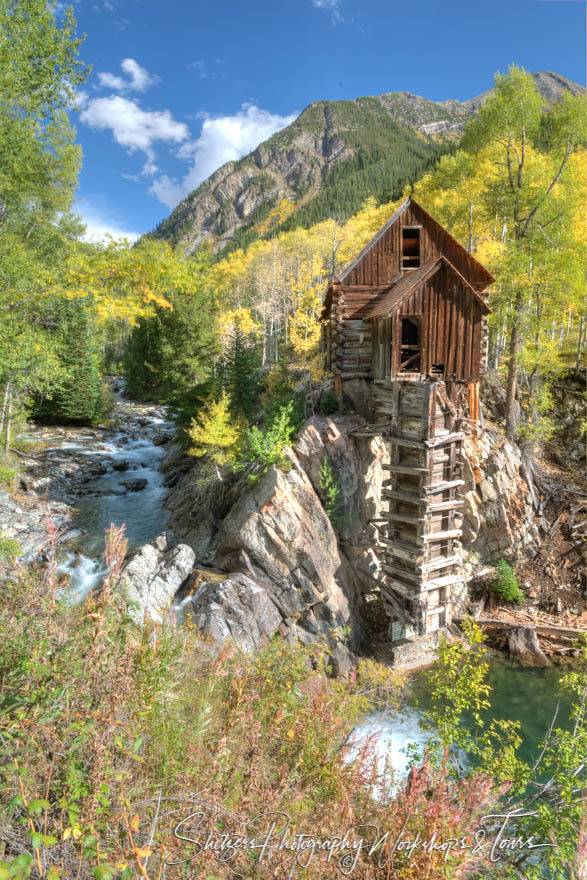 Crystal Mill next to the Crystal River