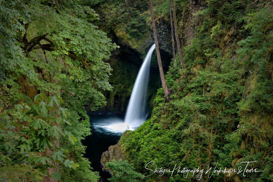 Metlako Falls of the Columbia River valley