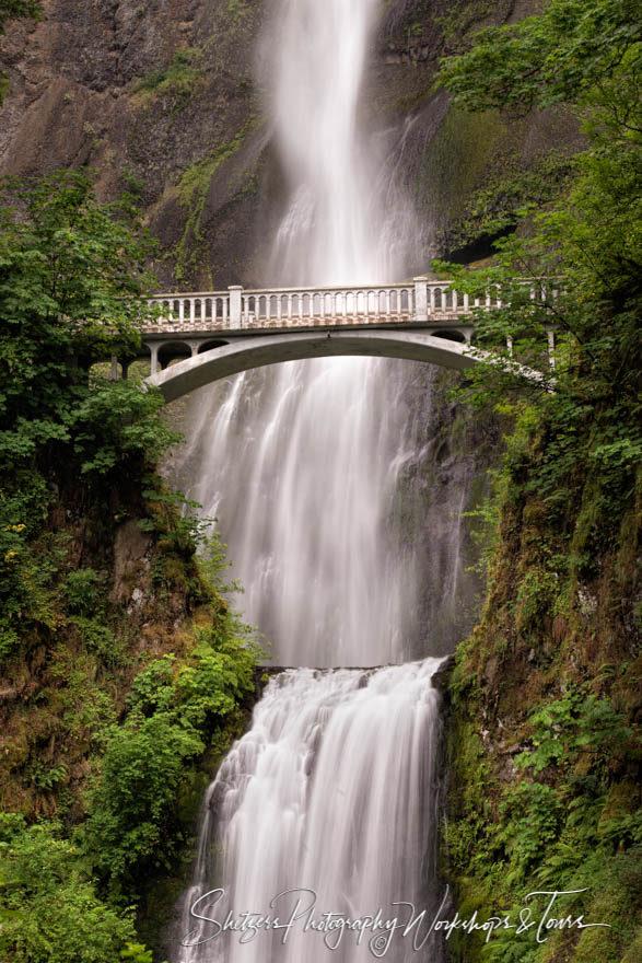 Multnomah Falls in the Columbia River valley