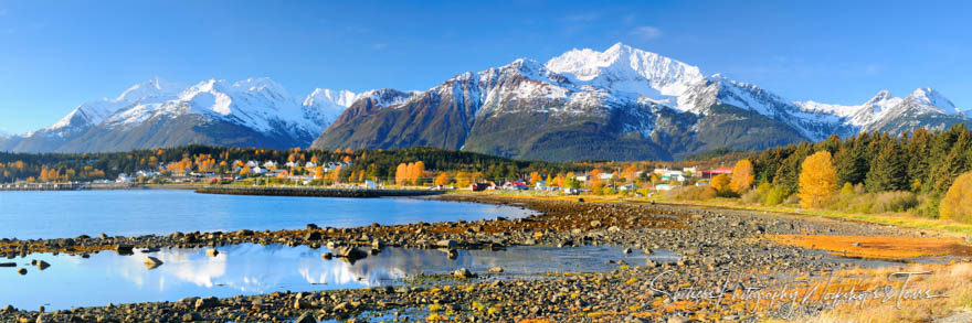 The Fall Colors of Haines Alaska and Fort Seward