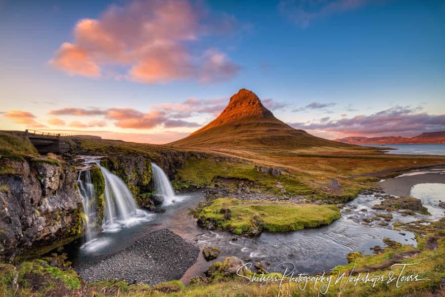 Mount  Kirkjufell in Iceland
